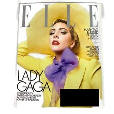 ELLE Magazine Lady Gaga December 2019 Hashtag Blessed Gifts Of The Season New