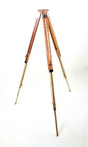 Wood Vintage Camera Tripod Beautiful Old Soviet Photo Video Accessories in case