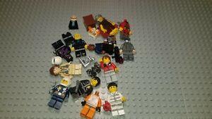LEGO Bulk Lot of Minifig Minifigures Parts & Pcs - Nice Variety