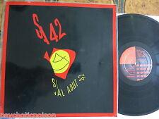 SIGNAL AOUT 42  Pro Patria  LP + bedruckte Plastikhülle + printed plastic sleeve