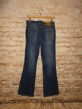 Baby Phat Women's Blue Denim Jeans Size 7 Boot Cut Stretch