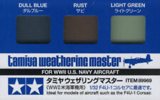 Tamiya 89969 Weathering Master Set(Dull Blue/Rust/Light Green)Model Paint Tools