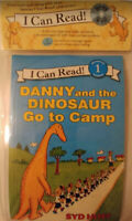 Danny and the Dinosaur Go to Camp Book and CD  Brand New