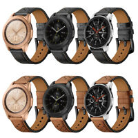 18 20 22mm Quick Release Genuine Leather Watch Band Strap For Fossil Q watch