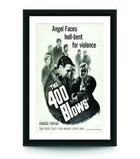 The 400 Blows Movie Poster, Vintage Movie Poster, Classic Film - No Frame
