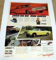 Dodge Fever 440 Magnum 1967 Coronet 1968 R/T Dodge Magazine Print Advertisement