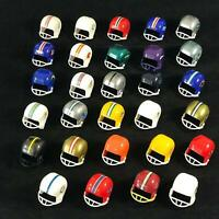 Vintage Lot of 29 OPI Mini NFL Footlball Helmet Gumball National Football League