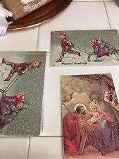 Vintage Christmas Postcard Lot of 25, Holidays new