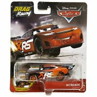 Disney Pixar Diecast CARS XRS Drag Racing Moving Pistons Nitroade GFV37