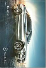 RARE Catalogue Katalog Prospekt MERCEDES CLASSE S BERLINE Année 2014 93 PAGES
