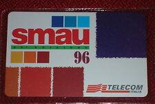 CONVEGNO SMAU TELECOM ITALIA FIERA MILANO 1996 / SCHEDA TELEFONICA TELECOM NUOVA
