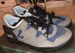 Lake Cycling SPD Womens MTB Shoes MX100W Grey/Blue Size EUR 35 / US 5.5