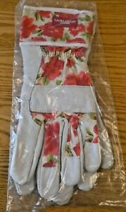 Laura Ashley Cressida All Weather Gardening Gloves. New No Tags Medium