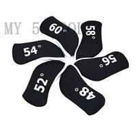 New 6Pcs/set Golf Wedge Cover for Mizuno Titleist Taylormade Ping Wedge Neoprene