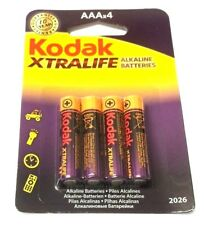 8 x KODAK XTRALIFE POWER ALKALINE BATTERY Size AAA R03 MN2400 HP16  1.5v SEALED