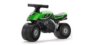 Falk Kinder Laufmotorrad »Kawasaki Bud Racing« Motorrad Laufrad Racing Rad