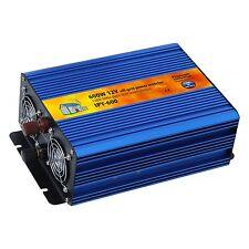 600W 12V pure sine wave power inverter pour caravane, camping-car, bateau ou sauvegarde