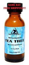 TEA TREE ESSENTIAL OIL by H&B Oils Center AROMATHERAPY GLASS BOTTLE 1 OZ, 30 ml