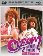 Cream Final Farewell Live Music Concert Royal Albert Hall BluRay DVD Double Pack