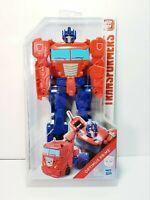 "Transformers Titan Changers Optimus Prime 10.5"" Action Figure 2018 Hasbro New"
