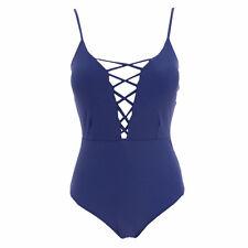 Women Push-up Bra Bikini Swimsuit One-Piece Monokini Swimwear Beachwear L