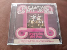 LOS RELAMPAGOS TEEN BOYS LOS SONOR LEYENDAS DEL POP CD 2012 NEW SEALED NUEVO