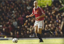 JAAP STAM - Hand Signed 12x8 Photo - Man Utd Manchester United - Football