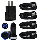 Phone Charger Car&Wall Plug USB C Cable For Samsung Galaxy Note 10 S10 S20 A10e