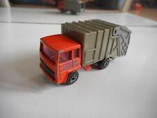 Matchbox Refuse Truck in orange/Grey