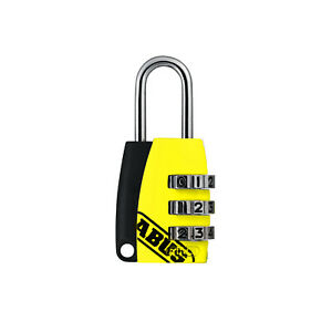 2 Stück ABUS Zahlenschloss 155/20 Vorhängeschloss Kofferschloss 3-stelliger Code