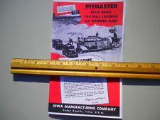 Cedar Rapids Cedarapids Reuhl Model Rock Crusher Pitmaster Toy Instructions