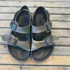 Vintage Birkenstock Birki's waterproof camo print sandals youth size 32/ size 1