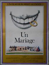Affiche UN MARIAGE A Wedding ROBERT ALTMAN Carol Burnett 40x60cm