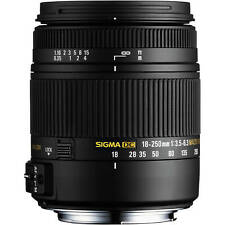 Sigma 18-250mm F3.5-6.3 DC MACRO HSM Lens for Sony A (Sigma 4 Year Warranty)