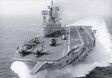 ROYAL NAVY AIRCRAFT CARRIER HMS ARK ROYAL (R09) - 25 PHOTOS OVER THE YEARS