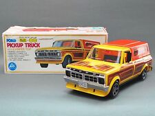 Vintage Ford Pickup Truck w/Camper top Battery Operated MIB Japan ALPS