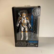 "Star Wars Black Series 6"" Clone Commander Cody Original Blue Series 2014 Hasbro"