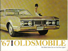 Oldsmobile Toronado 98 88 Cutlass F-85 4-4-2 1967 Original Export Sales Brochure