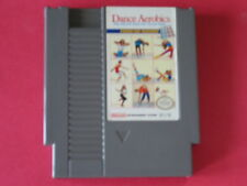 DANCE AEROBICS ORIGINAL POWER PAD GAME NINTENDO NES HQ