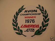 LAVERDA JOTA 1976  AVON  TITLE WINNERS WREATH DECAL