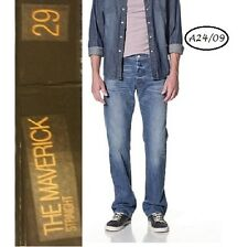 GENETIC DENIM $198 Maverick Ollie Wash Straight Leg Jeans 29 L35 Tall QCO