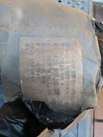 "300 feet of Orig. WWII US Army Field Drab Camouflage 2"" Burlap - helmets & Nets"
