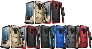Galaxy S9/S9+ - Zizo BOLT Combo Case w/ Holster, Glass Protector, & Lanyard