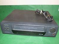 GOODMANS TX5000 VCR VHS VIDEO CASSETTE RECORDER Vintage Black Smart Fully Tested