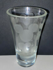 Disney Mickey Mouse Frosted Mickey Ears Shot Glass Shooter Barware
