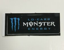 Monster Energy Drink LO-CARB Sticker (1) Unused NOS