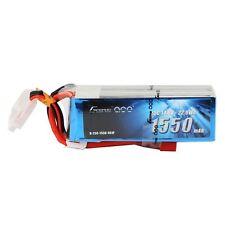 Gens Ace 1550mAh 4S 14.8V 25C 50C Lipo Battery Pack Deans Plug FPV Drone Quad US