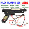 Upgrade Gearbox Wire Cable For JinMing M4A1 Gen 8 Gel Ball Blaster Mag-Fed Toy
