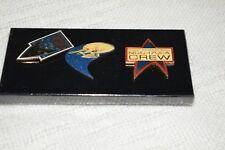 Star Trek 25th Anniversary Collection Set of 3 Collectors Pins 1966-1991 - Nib