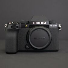 FUJIFILM X-S10 Mirrorless Digital Camera (Body Only) - Mint Condition